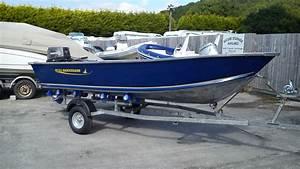 Quicksilver 450 Dlx Aluminium Boat With 30hp Tohatsu For