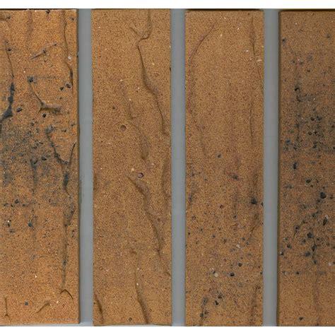 plaquette de parement en terre cuite bronze flamm 233