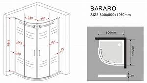 Radius Berechnen : duschkabine bararo 80 x 80 x 195 cm glasdeals ~ Themetempest.com Abrechnung
