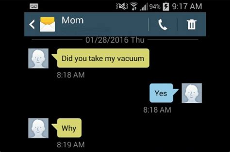hilarious motherdaughter texting fight  turned