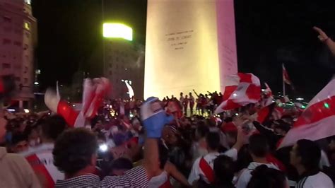 River Plate fans celebrate the South America Cup victory ...