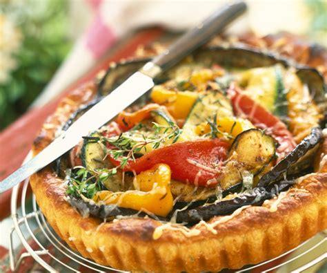 idée de légumes à cuisiner recette gourmande tarte aux légumes d été