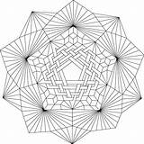 Coloring Mandala Geometric Patterns Eye Adult Daedalus Pdf Zentangle Maze Mythology Greek Icarus Library Clipart Mondaymandala London sketch template