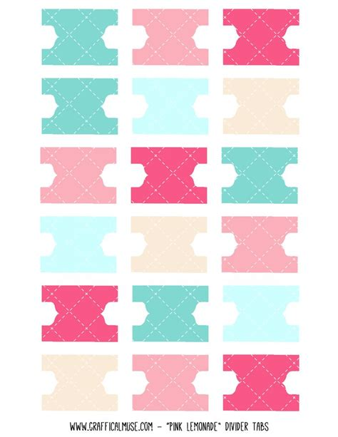 binder tabs template the 25 best ideas about printable tabs on binder tabs planner tabs and calendar