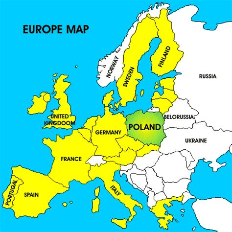 Pologne Carte Europeenne by File Image Of Poland In Europe Jpg Gif