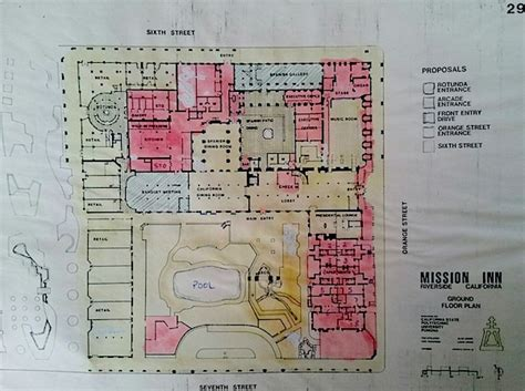 floor plans   mission inn  catacombs