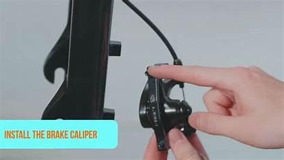 Caliper Replacement Radrover Fork Brake Reinstall Guide