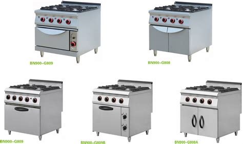 Restaurant Kitchen Gas Cooking Equipment With Electric