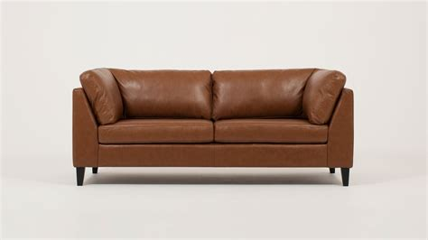 Apartment Sofa Leather by Salema Apartment Sofa Leather Eq3