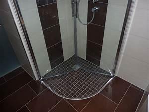 Dusche Bodengleich Fliesen : bodengleiche dusche mit mosaikfliesen in r mershausen fliesenleger v lk ~ Markanthonyermac.com Haus und Dekorationen
