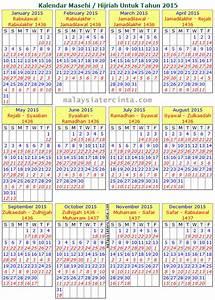 Bulan Islam Dalam Tahun 2015 Newcalendar