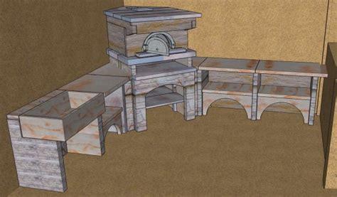 construction cuisine d été extérieure plan cuisine exterieure d ete dootdadoo com idées de