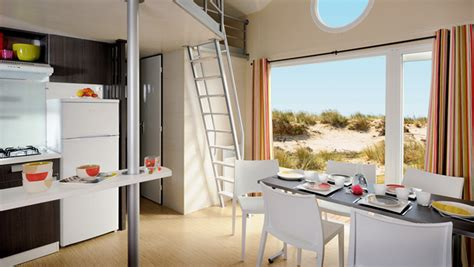 fully equipped  bed loft espace mobile homes eurocampcouk