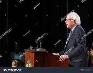 Bernie Sanders Spoke To An Enthusiastic Crowd Inside Of ...