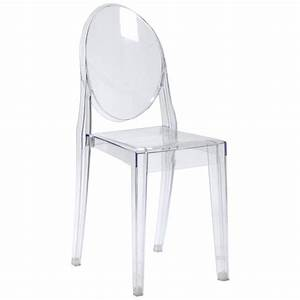 Gamma Side Chair Clear Acrylic Dining Chairs