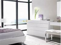 trending minimalist bedroom dresser Modern white dressers – stylish bedroom furniture ideas
