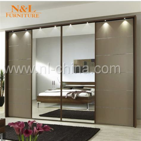 Clothes Cupboard With Mirror china american style clothes cabinet sliding mirror