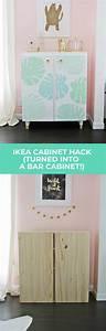 Pub Ikea 2018 : ikea ivar cabinet hack turned into a bar cabinet a ~ Melissatoandfro.com Idées de Décoration