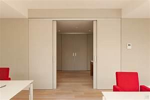 Portes coulissantes sur mesure anyway doors for Porte de garage coulissante et double porte salon