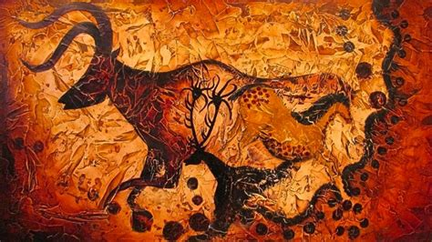 atmrshsartroom crafts class prehistoric art