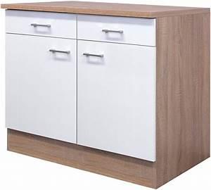 Küchenunterschrank Mit Schubladen 100 Cm : k chenunterschrank samoa breite 100 cm kaufen otto ~ Watch28wear.com Haus und Dekorationen