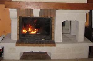 Recuperateur Chaleur Cheminée : cheminee foyer ouvert leroy merlin ~ Premium-room.com Idées de Décoration