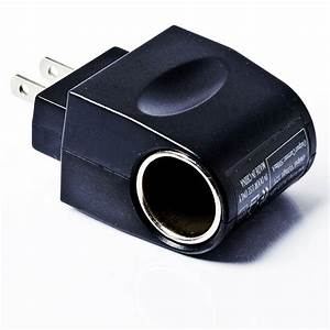 Universal Ac  Dc Power Adapter To Female Dc Cigarette