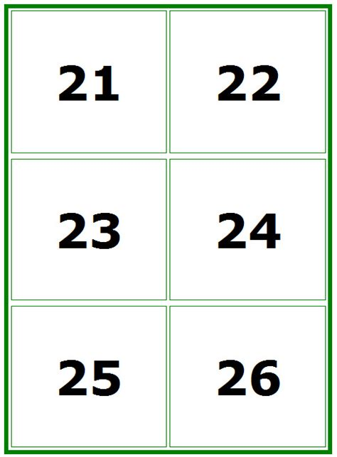 large printable numbers   pictures  pin  pinterest