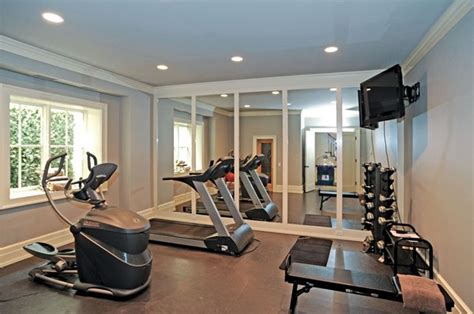 13 Home Fitness Room Design Examples  Mostbeautifulthings. White Sofa Living Room. White Floor Tiles For Living Room. Living Room Wall Mirror. Interior Decorating Ideas For Living Room. Pottery Barn Living Room Chairs. Short Tables Living Room. Low Price Living Room Furniture Sets. Tropical Living Rooms