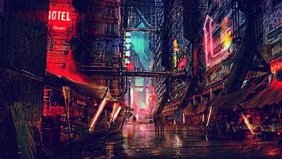 Cyberpunk 4k Digital Futuristic Fiction Science 1080p