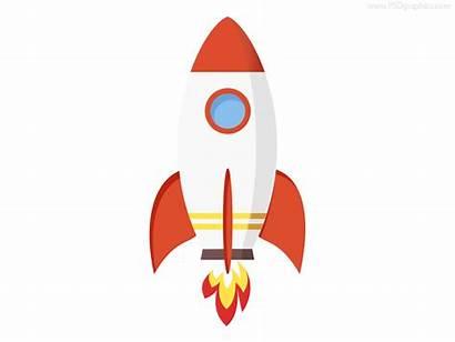Rocket Icon Clipart Psd Crash Flat Flying