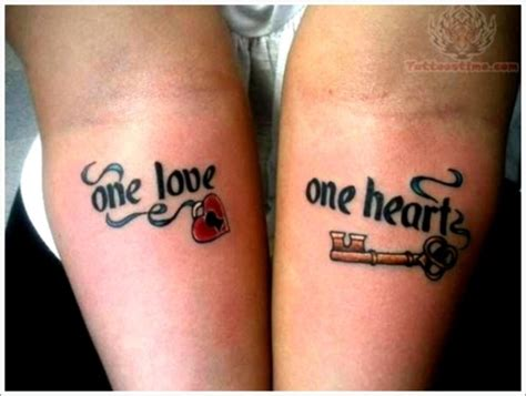 couple tattoos permanently inking  passion