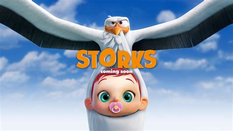 wallpaper junior baby storks hd animation movies