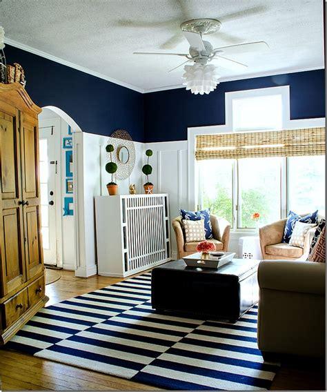 Navy And White Board & Batten Living Room Design. Modern Living Room Colors. Ikea Living Room Chair. Living Room Ottomans. Living Room Spaces. Corner For Living Room. Rooms To Go Living Rooms. Havertys Living Room Sets. Living Room Swing