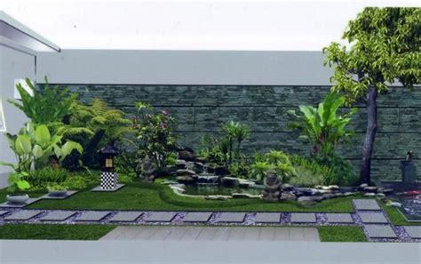 membuat taman lahan sempit desain rumah