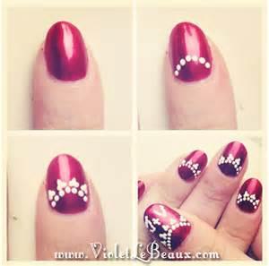 Spot nail art tutorial