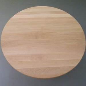 Holzplatte Rund 50 Cm : runde tischplatte sitzplatte aus 25mm eichenholz 40cm escher 39 s fassm bel ihr spezialist ~ Buech-reservation.com Haus und Dekorationen