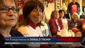 Trump supporters celebrate inauguration - YouTube
