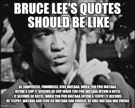 Bruce Lee Meme - one bruce lee imgflip