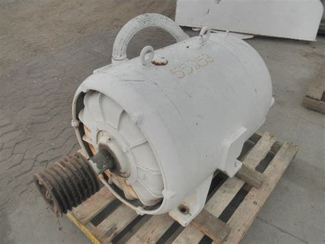 Electric Motors For Sale by Used 75 Hp Horizontal Electric Motor Continental Electric