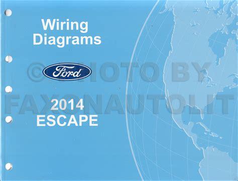 2014 ford escape wiring diagram manual original