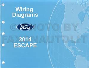 2014 Ford Escape Wiring Diagram Manual Original