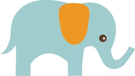 Free baby elephant vector download in ai, svg, eps and cdr. Elephant SVG elephant clipart cute clip art cute elephant ...