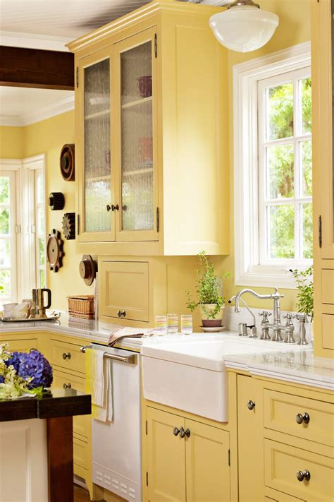 yellow kitchen colors 40 best yellow kitchen designs 2018 gosiadesign 1215