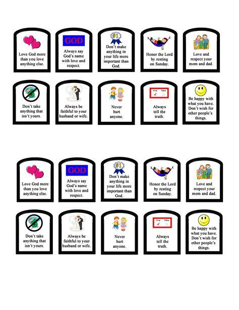 10 commandments sunday school 10 commandments craft 10 | 2f4e00821b58716a9d6fe5d62a6414c4