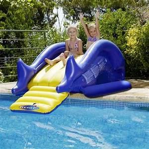 Jeux Gonflable Pour Piscine : toboggan gonflable pour la piscine ~ Dailycaller-alerts.com Idées de Décoration