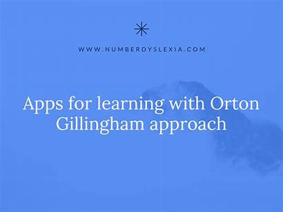 Orton Gillingham Approach Apps Learning