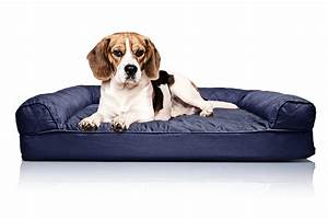 Furhaven quilted orthopedic dog sofa bed pet bed ebay for Quilted sofa pet bed