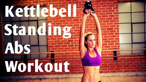 workout abs kettlebell standing ab minute crunch plank exercises workouts abdominal crunches abdomen guardado desde