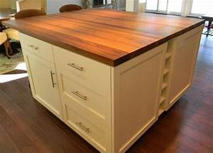 Teak Wood Countertop in Madison, New Hampshire by Grothouse